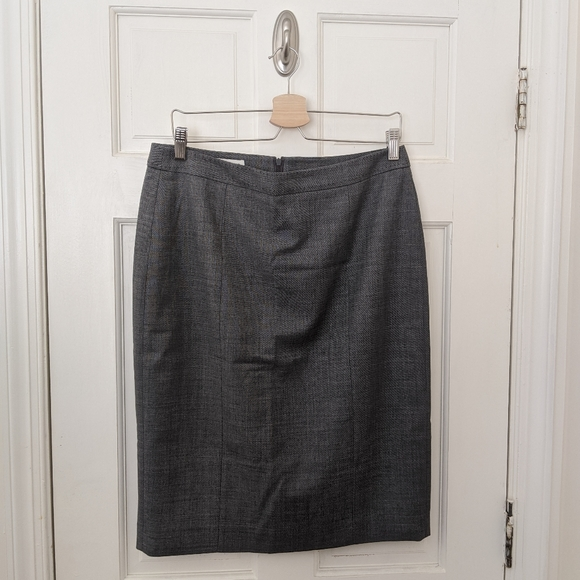 Austin Reed Skirts Wool Blend Pencil Suit Skirt Grey Euc Poshmark